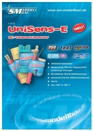 SM Anleitung UniSens-E v1.05