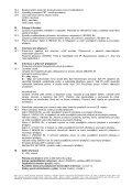 BEZPEČNOSTNÍ LIST / v souladu s nařízením ES 1907 ... - Novato - Page 3
