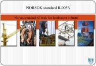 NORSOK standard R-005N