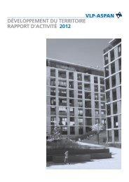 Rapport annuel 2012 - vlp-aspan