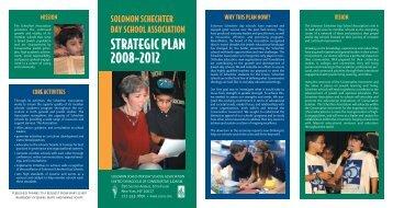 Read the SSDSA Strategic Plan - Schechter Day School Network
