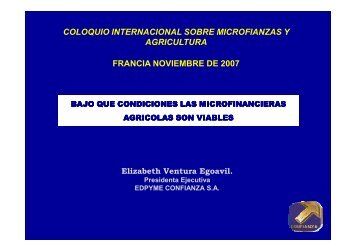 A5_Ventura_Confianza_ESP_ppt [Mode de ... - Fondation FARM