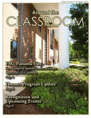 Vol 10 Issue 5 Envisioning the Future - Tallahassee Community ...