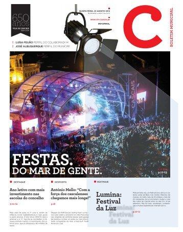 Lumina: Festival da Luz - Câmara Municipal de Cascais