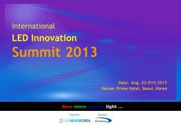 Summit 2013 - Display Plus