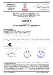 certificate modulo B luce.pdf - albatross srl