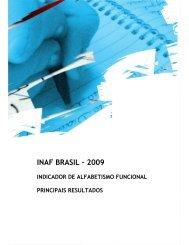 INAF BRASIL – 2009 - Instituto Paulo Montenegro