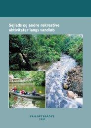 Sejlads og andre rekreative aktiviteter langs vandløb - Friluftsrådet