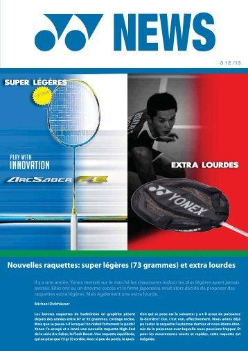 Yonex News 3 de la saison 2012 / 13, mars 2013 (PDF, 0.9 Mb)