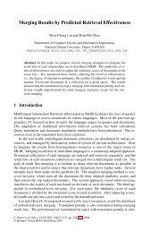 LNCS 3237 - Merging Results by Predicted Retrieval Effectiveness