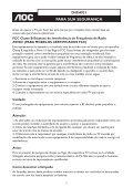 MANUAL DO USUÁRIO - AOC - Page 7