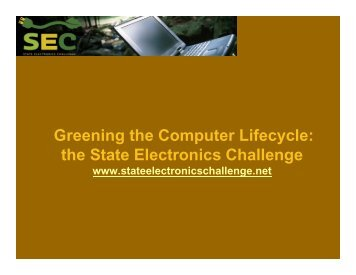 the State Electronics Challenge - NERC