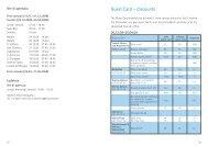 Riduzioni con la carta degli ospiti - Leukerbad
