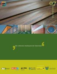 Holzbau - Steirischer Holzbaupreis 2011