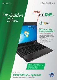 HP Golden Offers - Klein Computer System AG