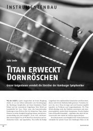 Leseprobe Orch 6_07 - Das Orchester