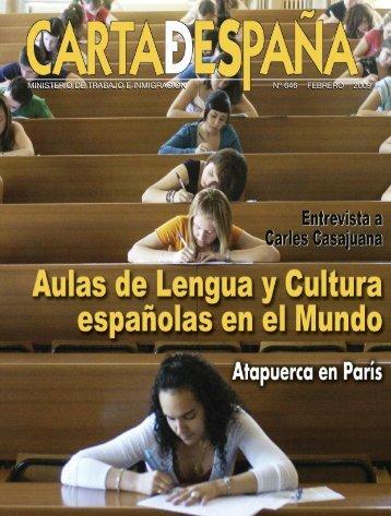 ministerio de trabajo e inmigración nº 646 febrero 2009 - Portal de la ...