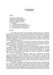 A Luta pelo Direito R. von Ihering ÍNDICE Prefácio de Clovis ...