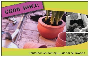 Grow Iowa- Container Gardening Guide for All Iowans