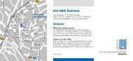 BLB NRW Bielefeld Anfahrt - Bau