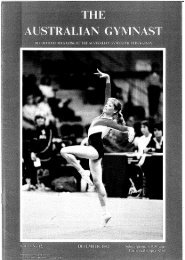 December - Gymnastics Australia