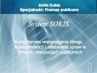 System SOKIS