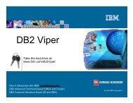 DB2 Viper (Paul Zikopoulos - IBM) - neodbug