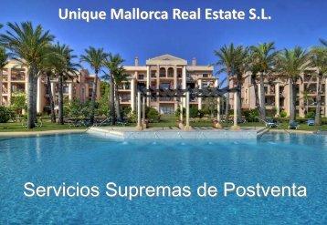 Post venta Catalogo de servicios - Unique Mallorca