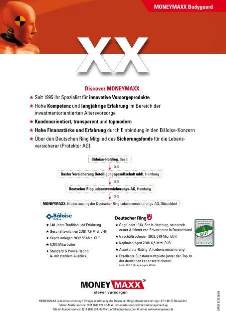 MONEYMAXX Bodyguard Discover MONEYMAXX. - vmc-metzner.de