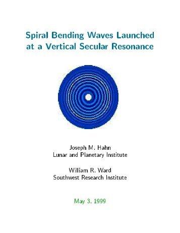 Spiral Bending Waves Launched at a Vertical Secular Resonance