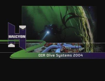 Halcyon DIR Dive Systems - Agentmike Productions