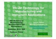 an ink-jet innovation company
