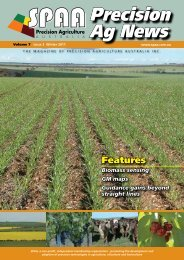 Winter 2011 Volume 7 Issue 3 - SPAA