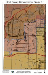 District 8 Map - Kent County, Michigan