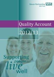 Part 2 - Devon Partnership NHS Trust