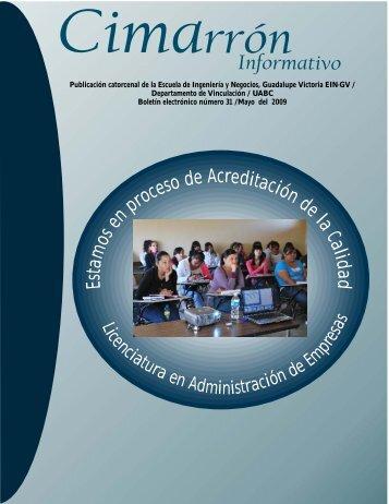 Cimarrón 31 - Universidad Autónoma de Baja California