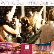 White Summerparty - Leonardo Hotels