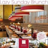 Lazy Sunday Brunch - Leonardo Hotels