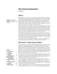 Fibre Channel Fundamentals (PDF) - Unylogix Technologies Inc.