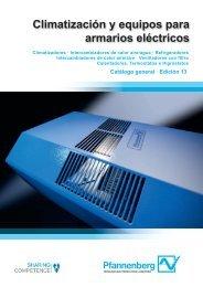 Climatización y equipos para armarios eléctricos - Pfannenberg