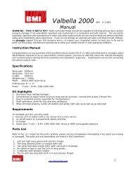 Valbella 2000 - BMI-models