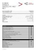 NUEVO ISUZU D-MAX LISTA DE PRECIOS 2012 - Page 6