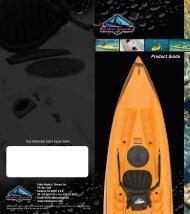 Product Guide - Cobra Kayaks