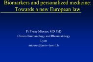 Biomarkers and personalised medicine: towards a new european law