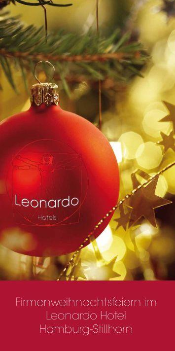 Firmenweihnachtsfeiern im Leonardo Hotel ... - Leonardo Hotels
