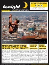 man charged in triple murder; victims related - tonight Newspaper