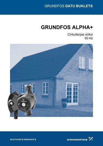 GRUNDFOS ALPHA+ - Santeko
