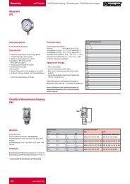 B34-B35 STAUFF ONE - STAUFF Test Manometer und Zubehör - DE