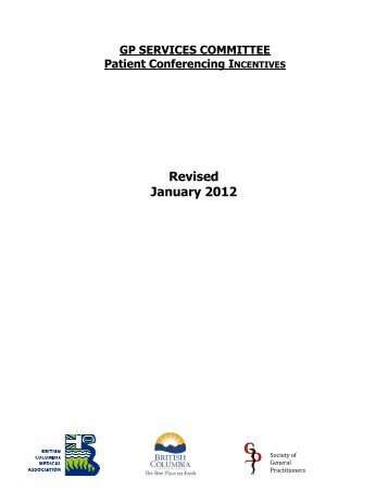 Revised January 2012 - GPSC
