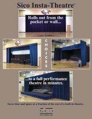 Staging Options for Sico's Insta-Theatre - Italasia